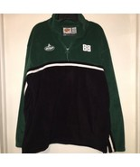 Dale Earnhardt Jr. 88 Winners Circle Pullover Fleece Sweater Men's Green... - $28.99
