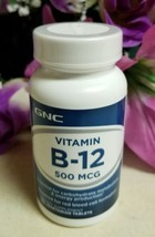 GNC - Vitamin B‑12 500 Mcg ‑ 100 Tablets ‑ EXP 5/2021 - $7.69