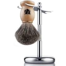 Miusco Premium 100% Pure Badger Hair Shaving Br... - $24.67