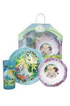 Disney Fairies 3 Piece Dinnerware Set - $10.00