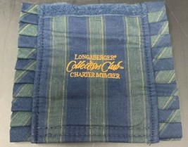 Longaberger Charter Member Handle Gripper in Collectors Club Stripe 19-1... - $9.45