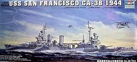 Trumpeter 1/350 Kit 05310 Uss Heavy Cruiser San Francisco CA-38 1944 - $69.95