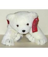 1/2 Price! Coke Coca Cola Plush Polar Bear with Satin Scarf 2002 NWT - $6.00