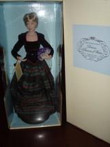"Franklin Mint Princess Diana Princess of Charm Doll Porcelain 17""  NEW C... - $101.40"