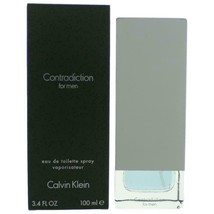 Contradiction by Calvin Klein, 3.4 oz EDT Spray for Men - $27.23