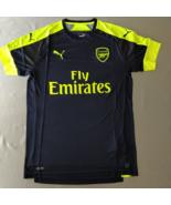 Arsenal Third Jersey 2016/17 Puma Fans Version Navy Neon %100 Original - $39.00