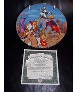 "1994 Disney Aladdin ""Make Way For Prince Ali"" Collector Plate With Certi... - $31.99"