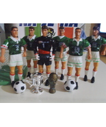 Mexico World Cup 6 action figures, 2 balls, 2 trophies - $18.00