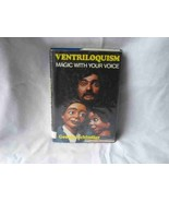 Ventriloquism Magic With Your Voice Book George Schindler - $28.95