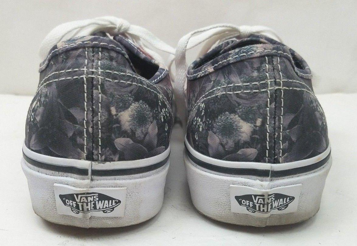 4501e82e0b Rare Vans Women s Multicolor Flower Floral Digital Print Shoes Sneakers  Size  7