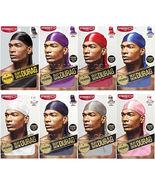 RED by Kiss Premium Silky Smooth Satin Durag Men's Doo Rag Caps *Pick 1 ... - $5.80