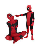 Deadpool Unisex Lycra Spandex Zentai Halloween Kids Children Costume Cos... - €39,96 EUR