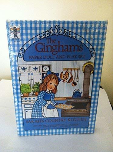 Ginghams Paper Doll and Play Set Sarah's Country Kitchen