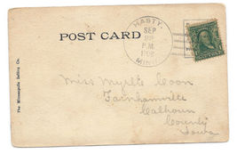 1908 Hasty MN Discontinued/Defunct (DPO) Postcard - $9.95