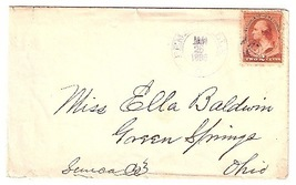 1886 Pemberville OH Vintage Post Office Postal Cover - $9.95