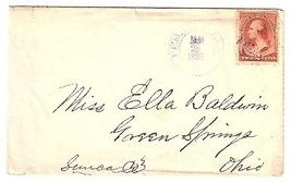 1886 Pemberville OH Vintage Post Office Postal Cover - $9.95