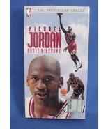 VHS Tape Michael Jordan Above and Beyond NBA Superstars Series - $9.95