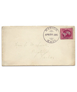 1891 Marion MA Vintage Post Office Postal Cover - €8,78 EUR