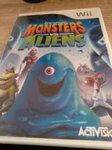 Nintendo Wii Monsters vs Aliens image 1