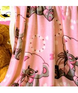 Baby Blanket Soft Mink Fleece by Big 7 Home Pink Bears Double Sided 40 x... - $33.66