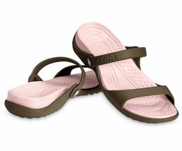 Crocs Cleo Slip On Slingback Footbed Sandal, Size 11 - $26.17