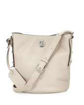 NWT Marc By Marc Jacobs C Lock Beige Leather Bucket Shoulder Bag New ($448) - $248.00