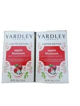 Yardley London Apple Blossom Limited Edition Soap Bars 4.25 Oz Each - 2 Pack - $6.88