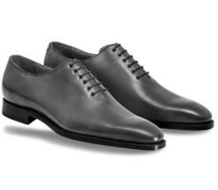 Men's Black Oxford Whole Cut Formal Business Dress Premium Quality Leather Shoes - $139.99+