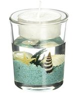 FASHIONCRAFT Stunning Beach-Themed Candle Favor, Tealight Candle Holders... - $9.22