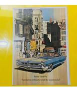 Vintage 1960s Pontiac Grand Prix Advertisement  Car Print AD Coupe Two W... - $14.80