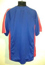 Texas Rangers Baseball Jersey Shirt Men's Large Blue Dynasty Series MLB Baseball image 2