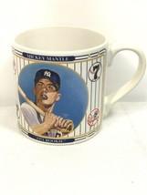 Micky Mantle 1951 Rookie MLB 16 oz coffee cup mug Sports Impressions Col... - $18.69