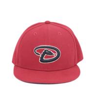New Era Cool Base On Field Arizona Diamondbacks Baseball Fitted Hat Kids 6 5/8 - $24.70
