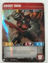 Transformers TCG Base Set - Dinobot Snarl - UT T18 - WOTC 2019 - $5.00
