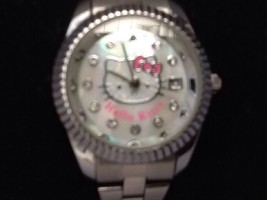 Womens Hello Kitty Wrist Watch Quartz Battery Japan Sanrio 2012 - $33.95