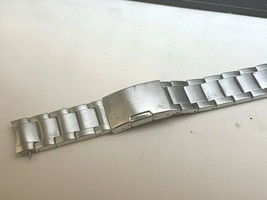 Fossil original stainless steel watch band bracelet 20mm curve - $23.52