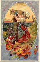 Easter Greetings  Paul Finkenrath of Berlin 1910 Post Card - $7.00