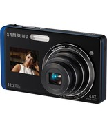 "Samsung TL220 12.2MP Digital Camera 4.6X Optical Zoom 3"" LCD Touch Screen  - $116.99"