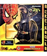 Spider-Man 2 - 100 Piece Puzzle -  Official Marvel Pressman 2003 New Sealed - $10.00