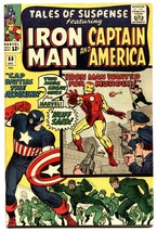 TALES OF SUSPENSE #60 comic book-1964-Captain America-2ND HAWKEYE FN+ - $103.40