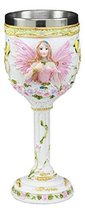 Ebros Holy Matrimony Blue And Pink Butterfly Bridal Fairy Wine Goblet 7o... - $18.49