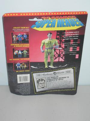 1989 DC Batman The Riddler Figure In The Package