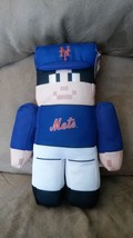"NEW YORK METS Pixel Plush Player Brand New 2016 MLB Licensed 13"" RALLYMEN - $14.99"