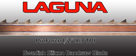 "Laguna ProForce Bandsaw Blade 1/2"" x 3 t.p.i. x 156"" Great Band Saw Blades - $39.00"
