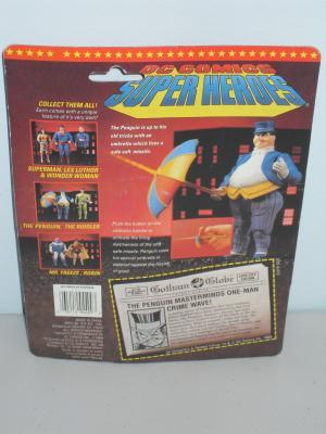 1989 DC Batman The Penguin Figure In The Package