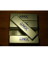 4 BRAND NEW - NGC - Silver Storage Boxes - $32.00