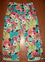 Cottontails Originals Girls Capri Size 6X Floral Ruffle Pants Spring Sum... - $19.79