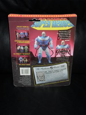 1989 DC Batman Mr. Freeze Figure In The Package