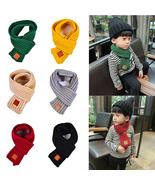 Winter Kids Scarves Warm Baby Boys Girls Scarf Solid Soft Scarf Collar C... - $9.99