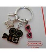 New Coach Keychain Hollywood 92861 4 Multi Digi... - $35.00